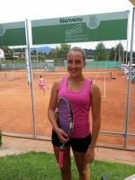 Laura Bomio vincitrice del torneo di Cureglia Circuito SWICA Premio Ticino 2014 R5-R6
