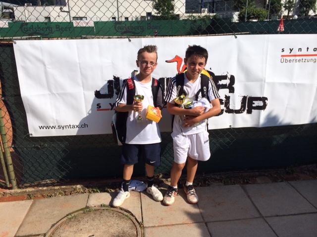Nathan Sartori finalista al torneo di Agno under 10